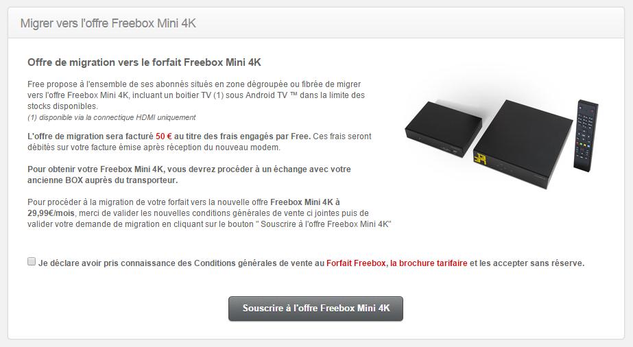 joli design comment chercher nouvelle version Freebox mini 4K : la migration des anciens clients se met en ...