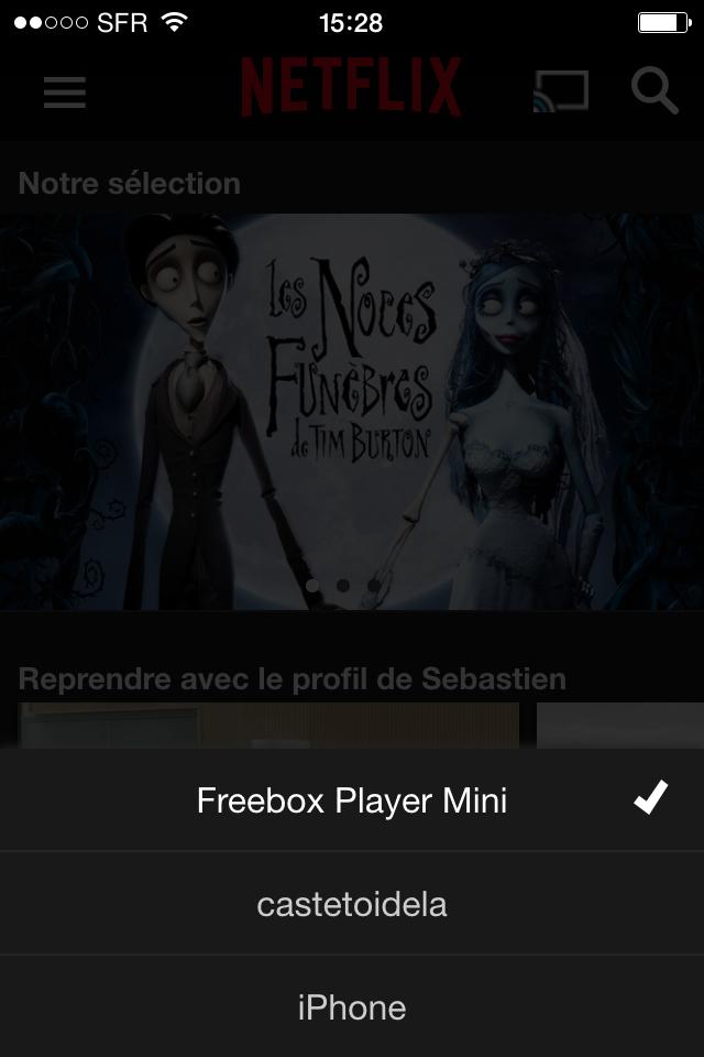 Freebox mini 4K TV