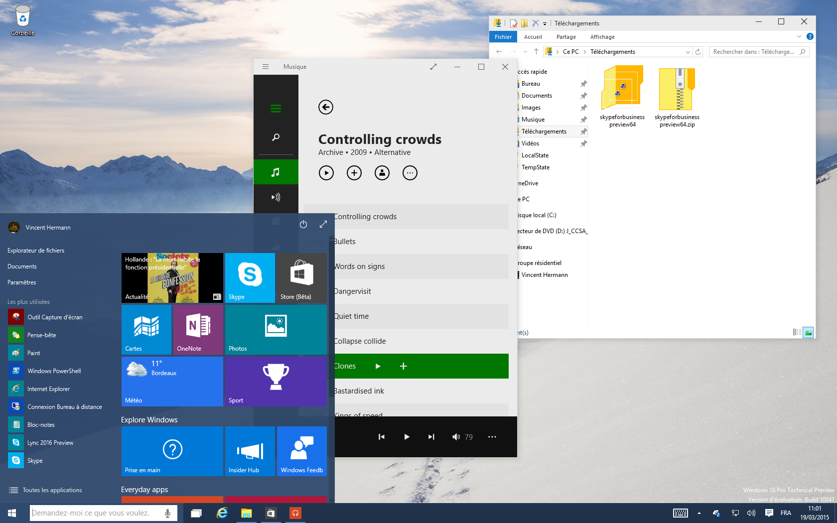 La build 10041 de windows 10 disponible ses principales for Fenetre windows