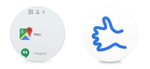 Android Wear lanceur apps et emojis