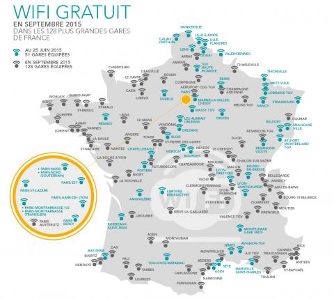 Wi-Fi gares TGV juillet 2015