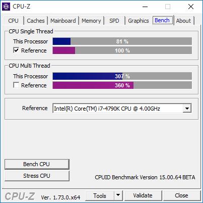 Bench CPU-Z 1.73