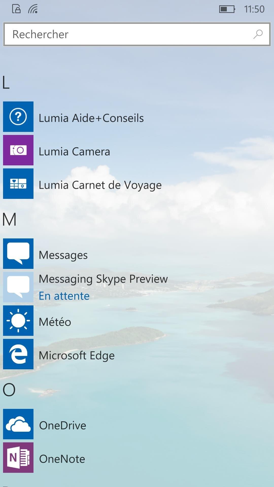 Windows 10 Mobile 10536