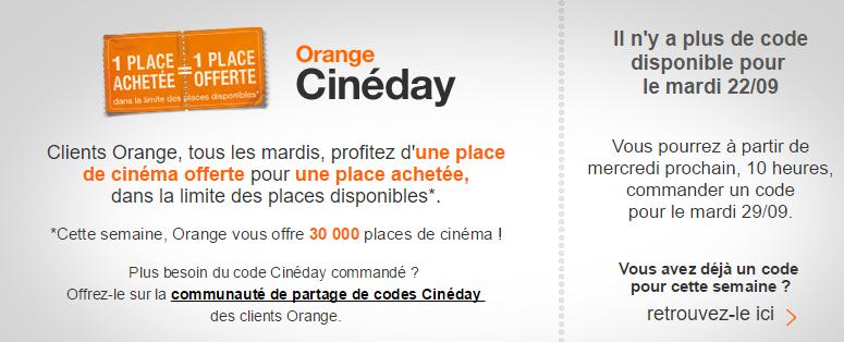 Cineday Orange