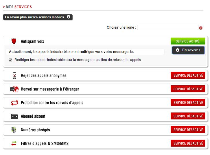 Free Mobile Antispam Voix