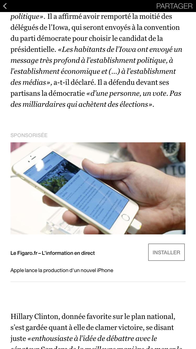 Facebook Instant Articles Libération