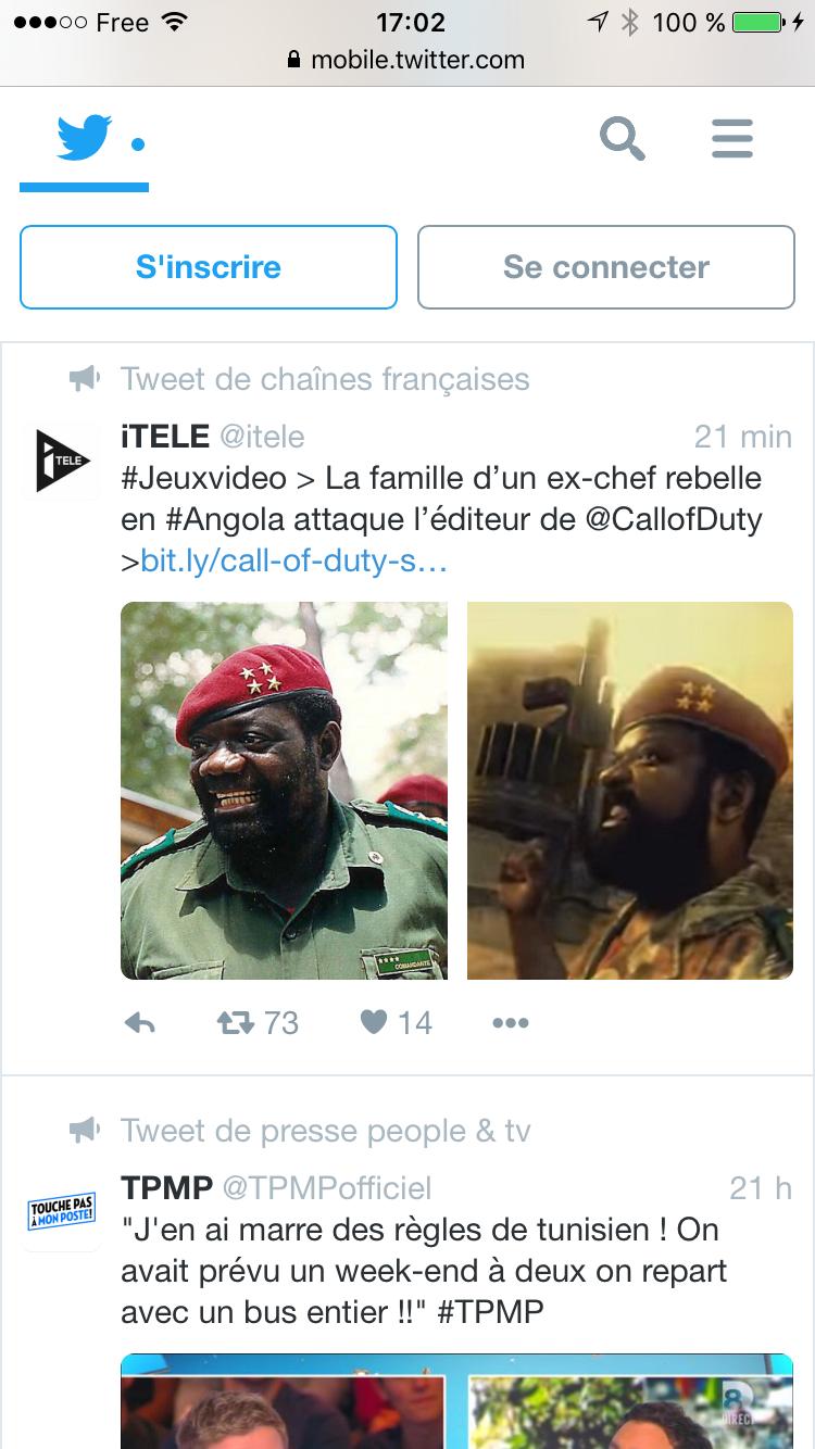 Twitter Acceuil Mobile Next Gen