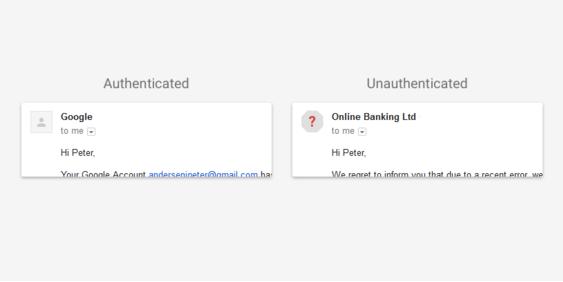 Chiffrement Gmail Alerte