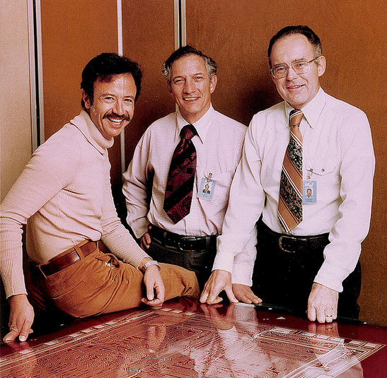 Intel Andy Grove Noyce Robert Gordon Moore