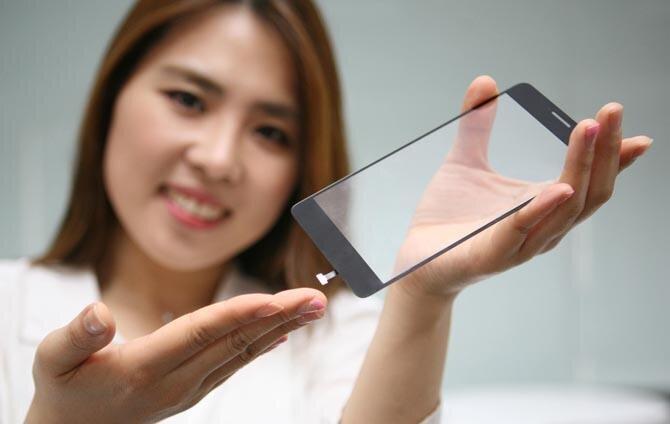 LG écran capteur empreintes digitales