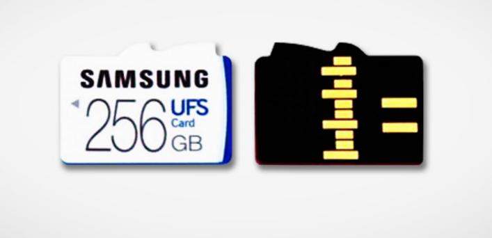 Carte mémoire UFS Samsung