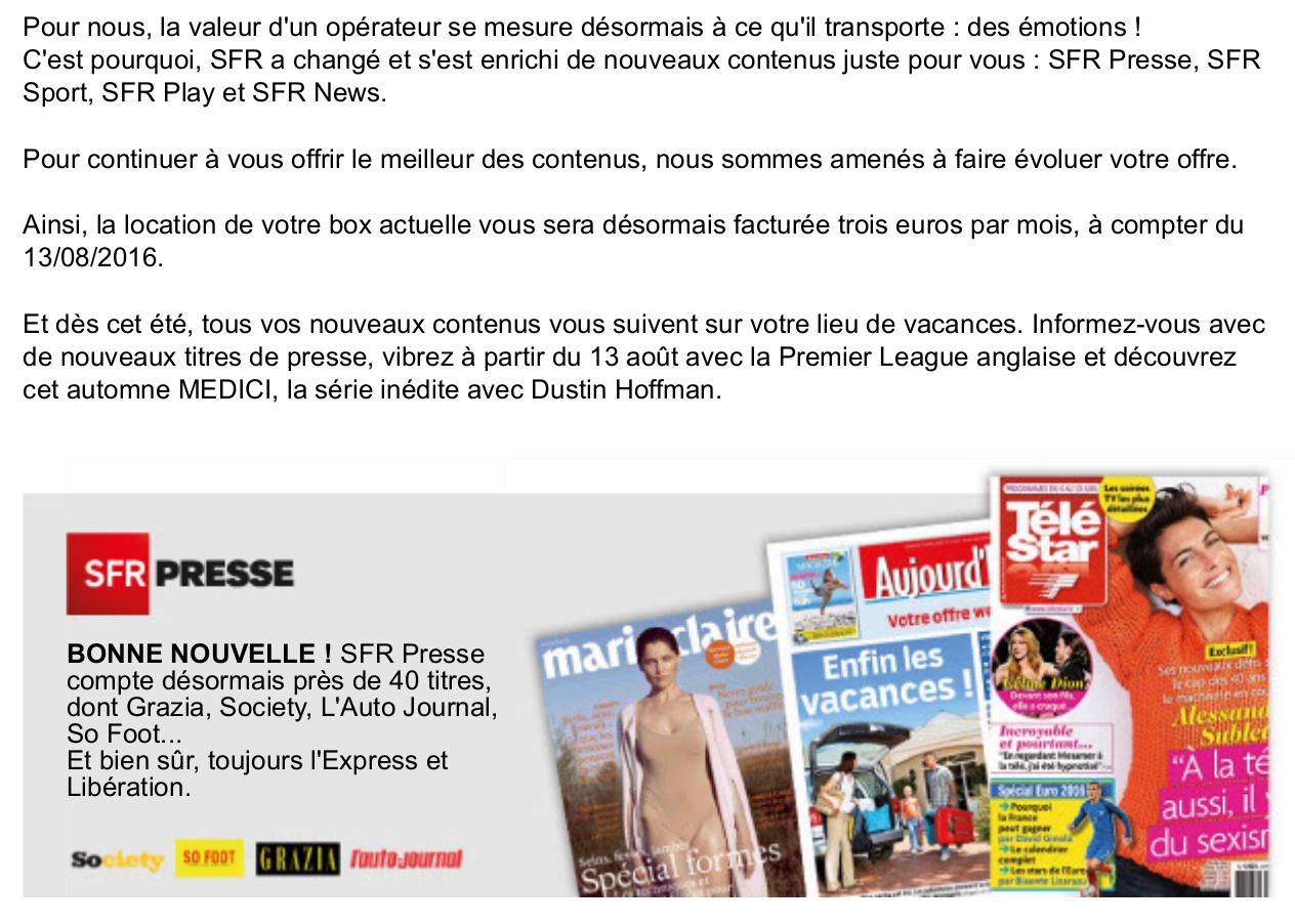 Refus Du Service Client De Resilier Sans Frais Le Forum Sfr 1813907