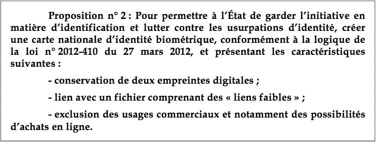 rapport sénat carte identité électronique