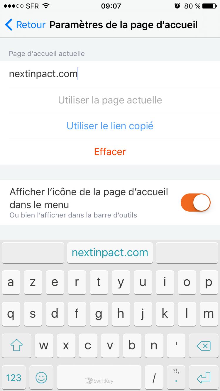 Firefox iOS 5.0