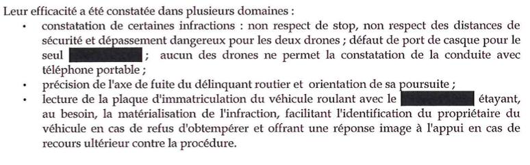 drone efficacité gendarmerie