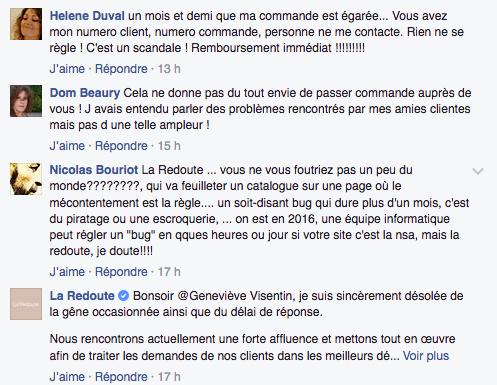 redoute facebook