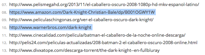 dmca warner batman