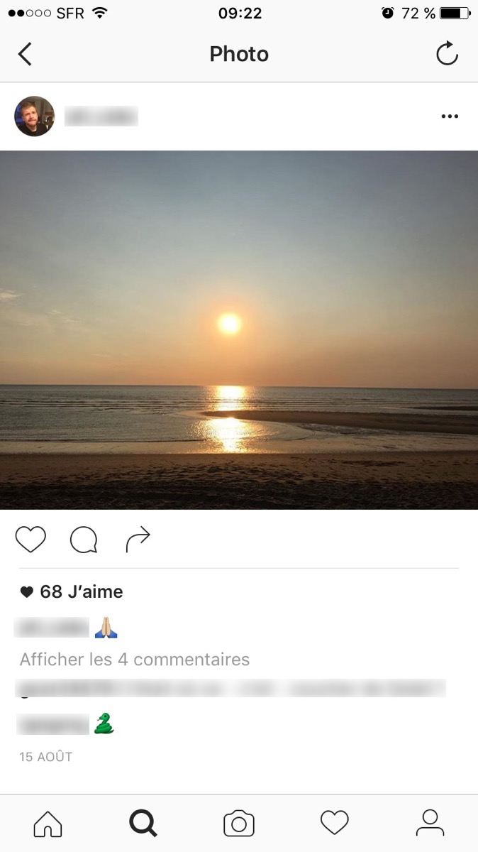instagram modération