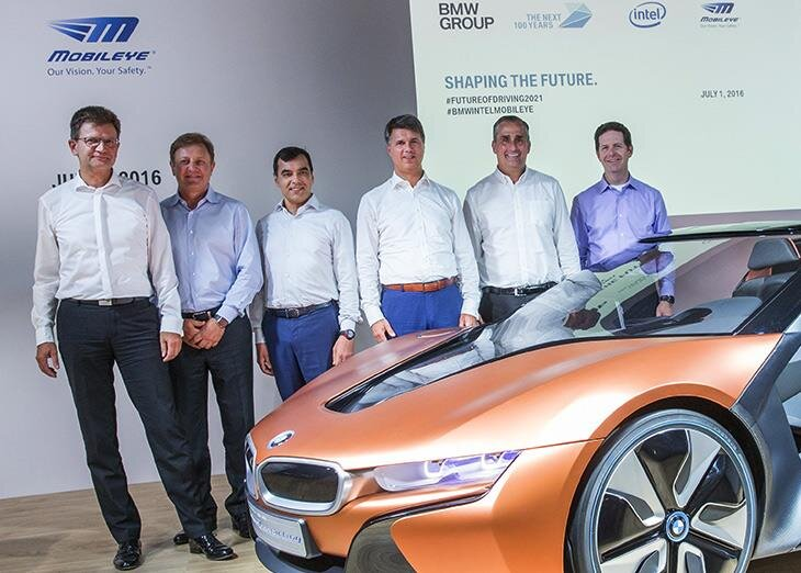 Mobileye BMW Intel