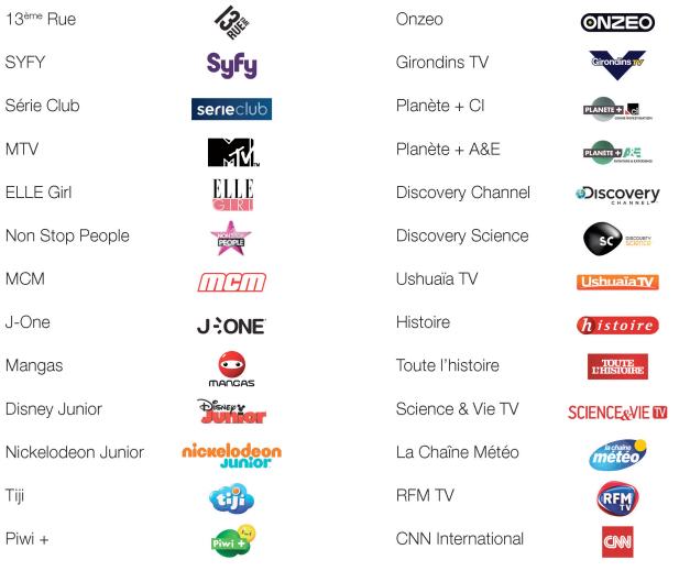 Free freebox r volution et canalsat panorama 39 99 par mois sans engagement - Quel satellite pour canalsat ...