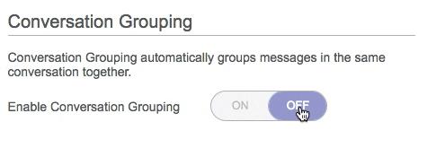 ProtonMail 3.5 conversations