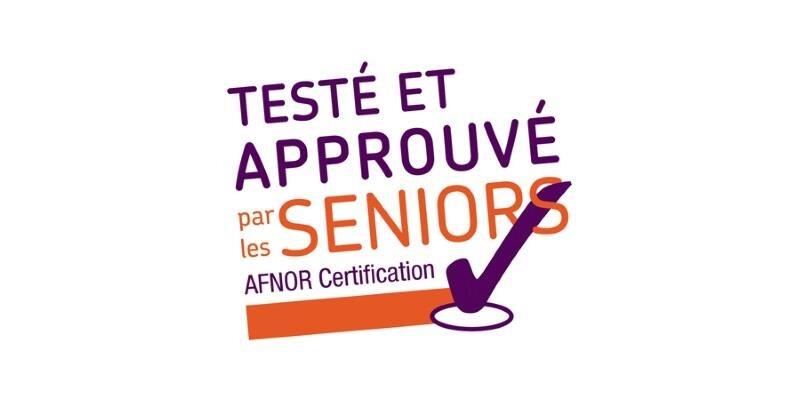 Afnor Testé approuvé seniors