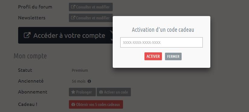 Parrainage offrez 5 codes d 39 abonnement next inpact for Miroir activation code