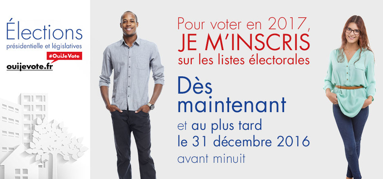 Inscription liste électorales 2017