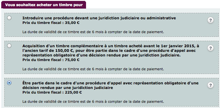 timbre justice