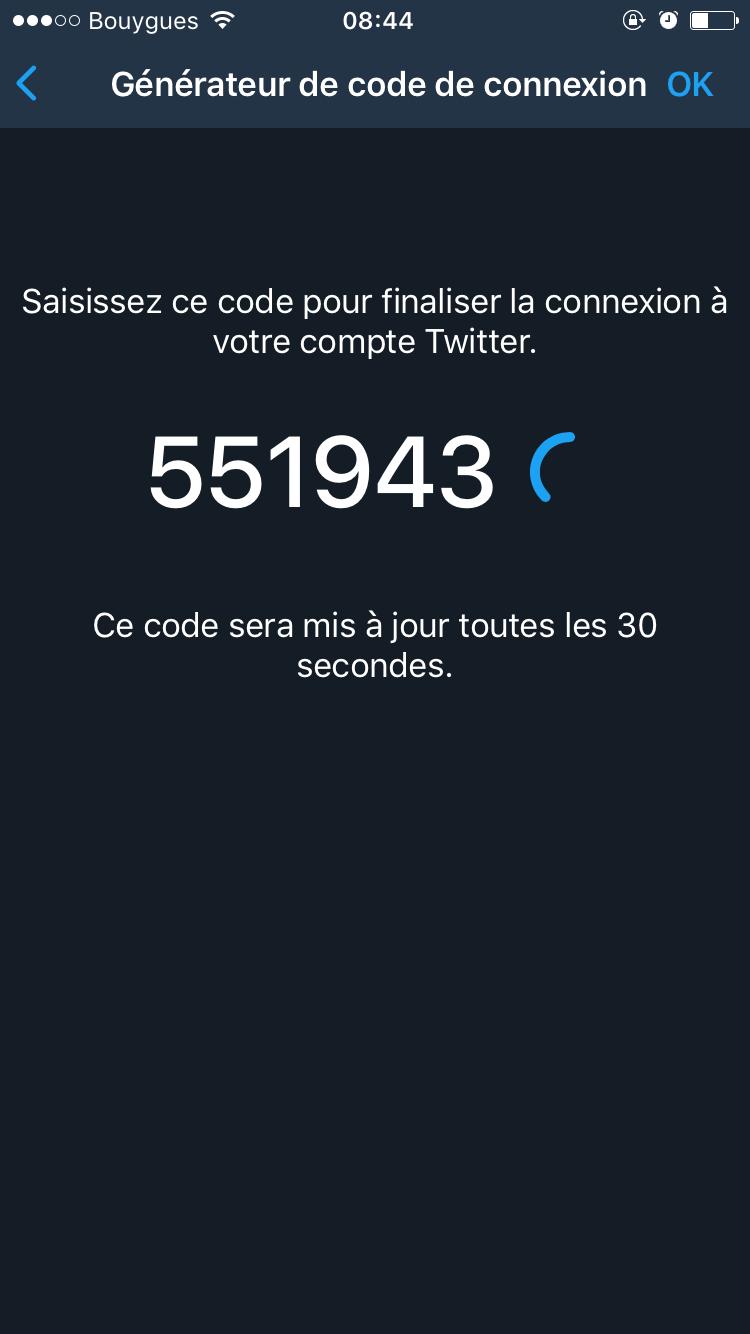 twitter code