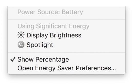 macbook macos autonomie écran