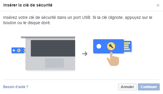 Facebook U2F FIDO