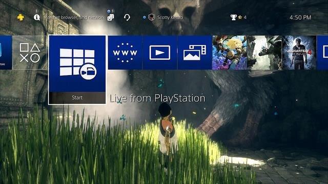PS4 MàJ 4.50