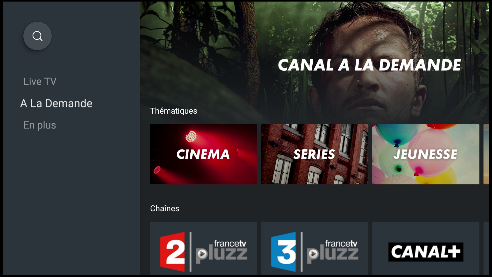 mycanal android tv