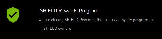 NVIDIA SHIELD Rewards
