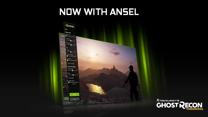NVIDIA Ansel Tom Clancy's Ghost Recon Wildlands