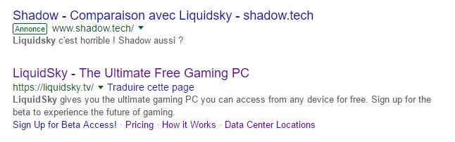 Shadow LiquidSky