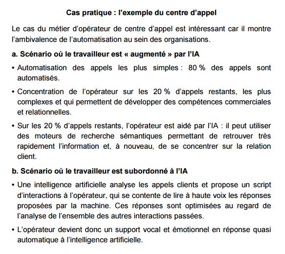 France Stratégie IA