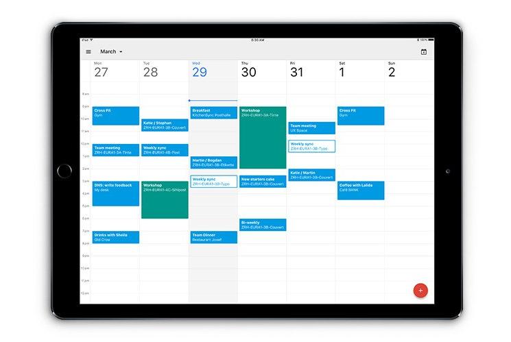 google agenda calendar