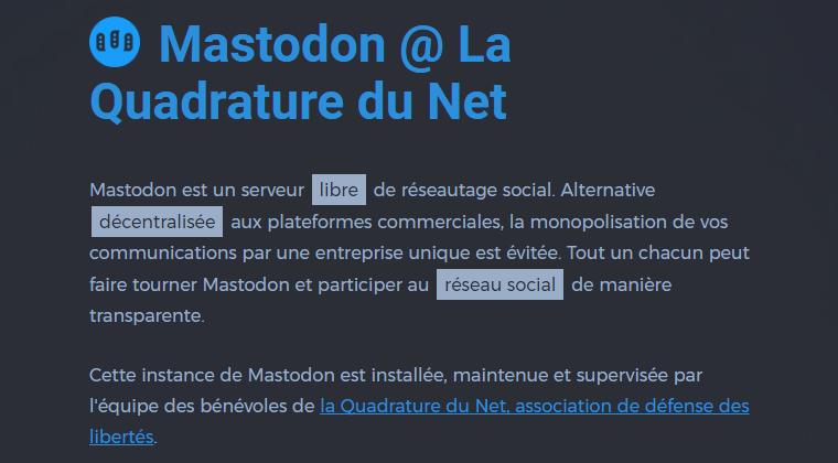 Mastodon LQDN