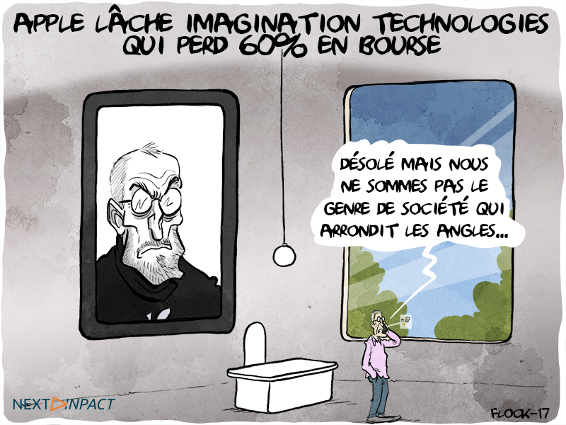 Apple lâche Imagination Technologies