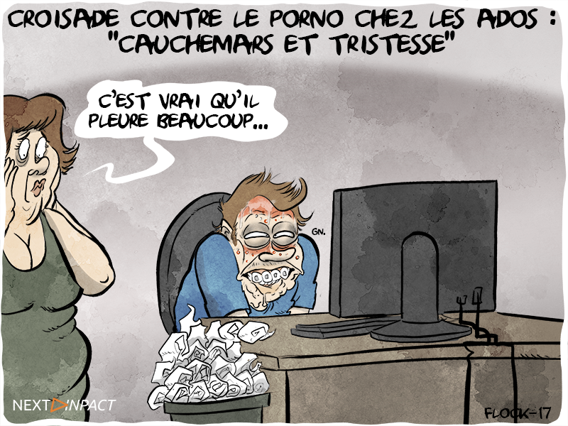 Le député Jacques Bompard en croisade contre l'accès des ados au porno