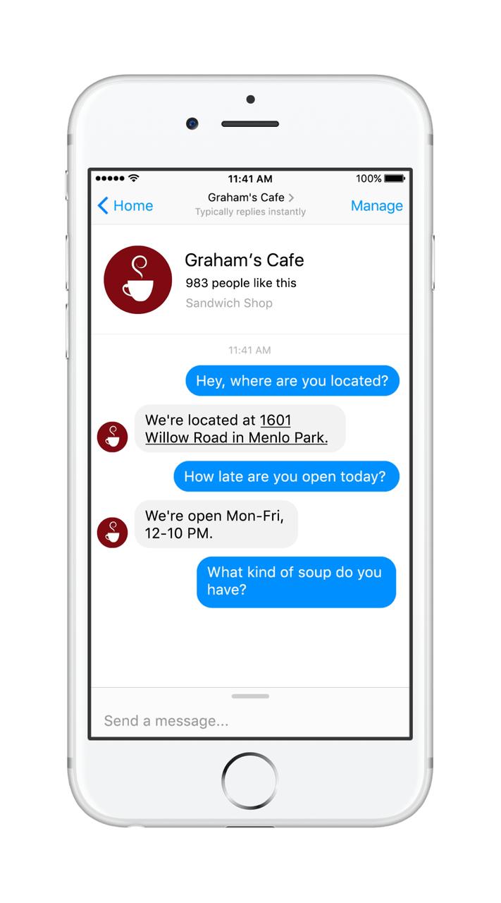 messenger platform 2.0 facebook f8