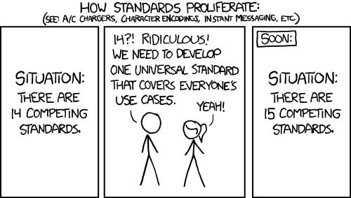 XKCD protocols