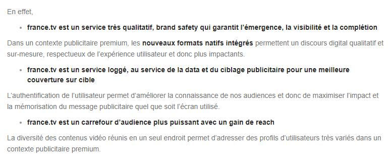 France Télévisions Ciblage Login