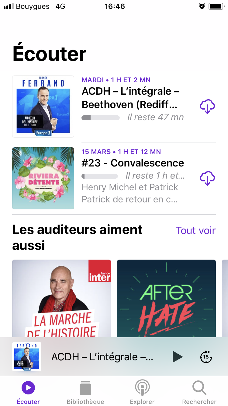 ios11 podcasts