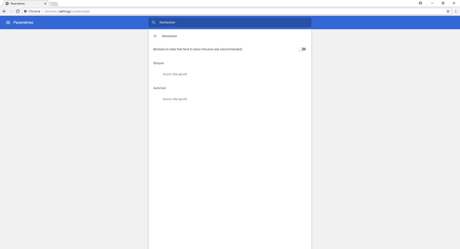 Le bloqueur de publicit s int gr dans chrome pour android for Bloqueur de fenetre pop up