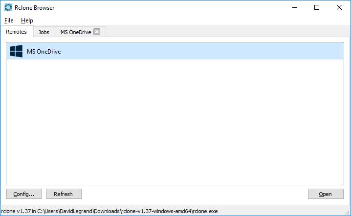 Rclone Browser : accédez à vos services de stockage en ligne