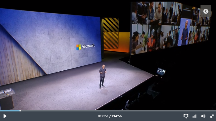 Microsoft Ignite Video Placeholder