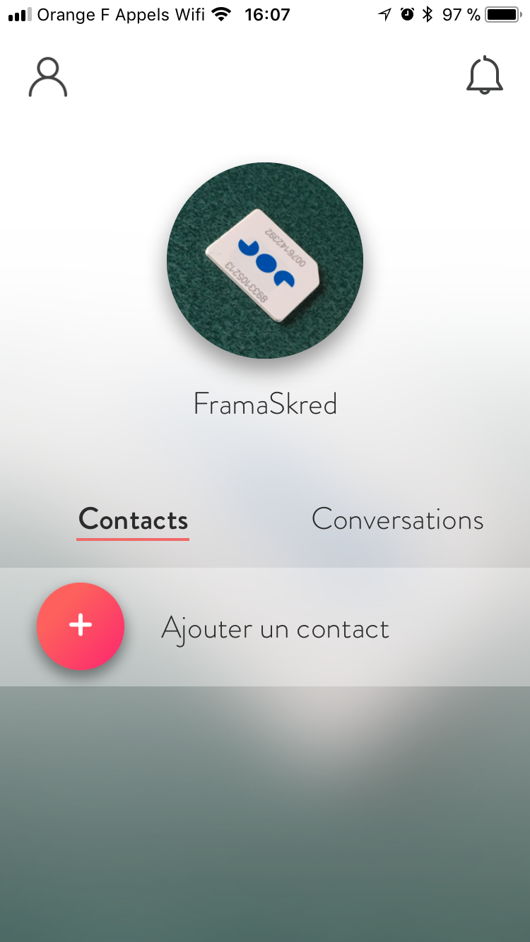 contacts personnels datant